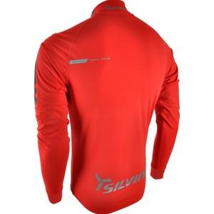 Herren Thermo Sweatshirt Silvini Altissima MJ419 red, Silvini