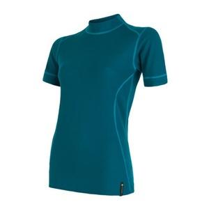 Damen T-Shirt Sensor Double Face Kurzarm saphir 16200053, Sensor