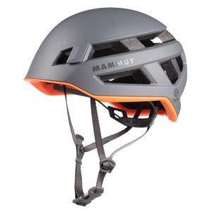 Bergsteigen Helm Mammut Crag Sender Helmet Titanium, Mammut