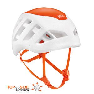 Bergsteigen Helm PETZL Sirocco weiß-orange, Petzl