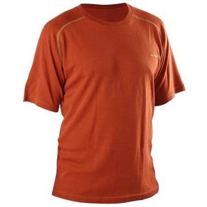 T-Shirt AFARS Merino Kurz- Ärmeln Orange, Warp