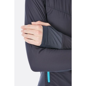 Damen Sweatshirt Rab Alpha Flux beluga, Rab