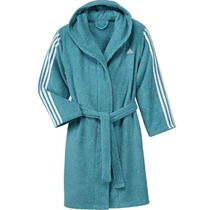 Bademantel adidas 3 Stripes Bathrobe Kids BK0307, adidas