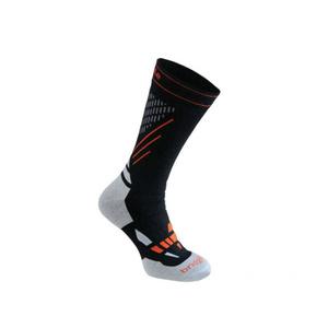 Socken BRIDGEDALE XC Race 850 Schwarz / Stein, bridgedale