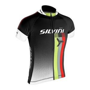Kinder Radsport Dress Silvini TEAM Kids CD842K black, Silvini
