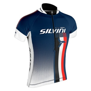Kinder Radsport Dress Silvini TEAM Kids CD842K navy, Silvini