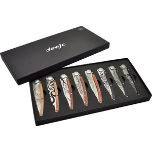 Deejo Set 8 Messer Tatto 37G DEE012, Deejo