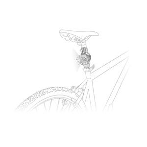 Adapter Petzl Bike Adapt E000AA00, Petzl