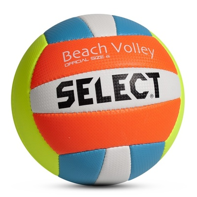 Volleyball Ball Select VB Beach Volley Gelb blue