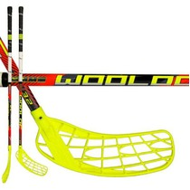 Floorball Stock Wooloc Winner 3.2 red 96 ROUND NB '16, Wooloc