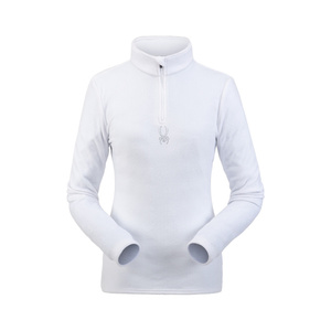 Rollkragen Spyder Women's Shimmer Bug Velour Fleece T-Neck 194091-100, Spyder
