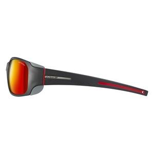 Sonnen Brille Julbo MONTEROSA SP3 CF matt schwarz/rot, Julbo