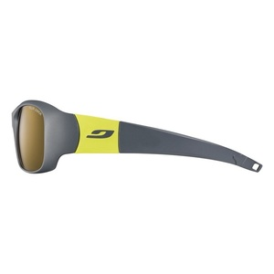 Sonnen Brille Julbo PICCOLO Polar3 Junior Dark grau/gelb green, Julbo