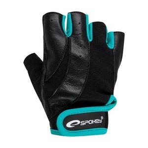 Fitness Handschuhe Spokey ZOE schwarz/grün, Spokey