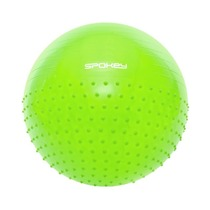 Gymnastic Ball Spokey HALF FIT 2v1 65 cm inklusive pumpe grün, Spokey