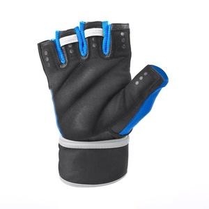 Fitness Handschuhe Spokey RAYO III schwarz/blau, Spokey