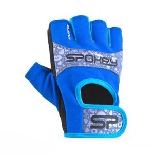 Damen Fitness Handschuhe Spokey ELENA II blau-türkis, Spokey