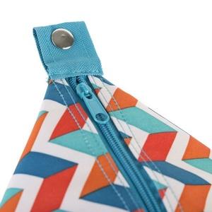 Strand- Thermo Tasche Spokey SAN REMO blue zickzack, 52 x 20 x 40 cm, Spokey