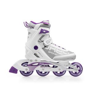 In-line Skates Spokey PRIME weiß-lila, Spokey