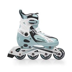 In-line Skates Spokey RENO blau-weiß, Spokey