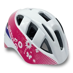 Kinder Radsport Helm Spokey CHERUB white, 44-48 cm, Spokey