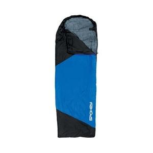 Schlaf Sack Spokey ULTRALIGHT 600 II schwarz / blau, linkes befestigung, Spokey