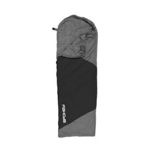 Schlaf Sack Spokey ULTRALIGHT 600 II schwarz / grau, rechtes befestigung, Spokey
