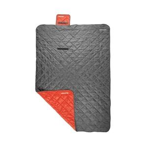 Schlaf Sack Spokey CANYON 200x140 cm, Decke, grau / rot, Spokey
