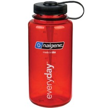Flasche Nalgene Wide Mouth 1l 2178-2023 red, Nalgene