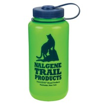Flasche Nalgene Wide Mouth 2179-1032 green Cat Logo, Nalgene