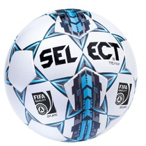Ball Select Team Fifa white blue, Select