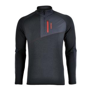 Herren Sweatshirt Silvini Ferrato MJ1108 schwarzkohle, Silvini