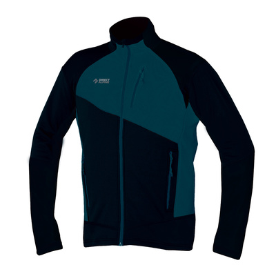 Sweatshirt Direct Alpine Gavia schwarz / petrol, Direct Alpine