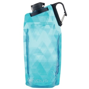 Flasche Platypus DuoLock Softbottle Blue Prismen 0,75 l, Platypus