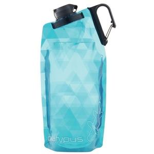 Flasche Platypus DuoLock Softbottle Blue Prismen 0,75 l, Platypus