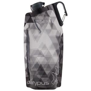 Flasche Platypus DuoLock Softbottle Gray Prismen 1 l, Platypus