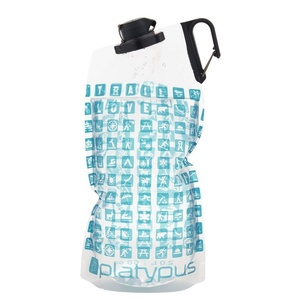Flasche Platypus DuoLock Softbottle Gehälter Logo 2 l, Platypus
