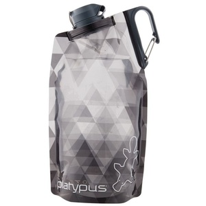 Flasche Platypus DuoLock Softbottle Gray Prismen 0,75 l, Platypus