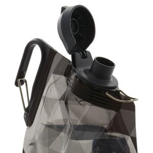 Flasche Platypus DuoLock Softbottle Gray Prismen 0,75 l, Platypus