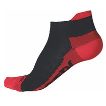 Socken Sensor Coolmax Invisible black red 1041006-16, Sensor