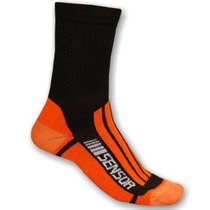 Socken Sensor Trekking Evolution black Orange 1065673, Sensor