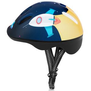Kinder Radsport Helm Spokey SPACE 49-56 cm
