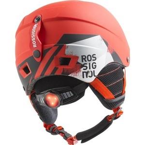 Ski Helm Rossignol Comp J rot-eis RKFH504, Rossignol
