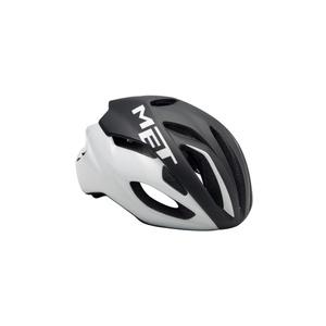 Helm MET rivale schwarz/weiß, Met