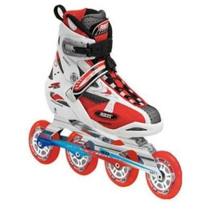 Skates Roces S 302 Top weiß/rot, Roces