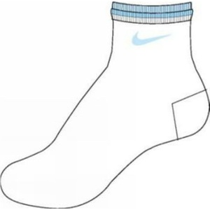 Socken Nike Femme SX0962-143, Nike