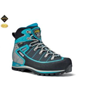 Schuhe ASOLO Shiraz GV Black/Blue pfau A318, Asolo