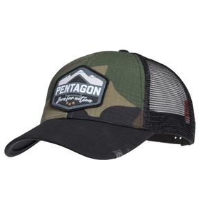 Cap Era Trucker Born for aktion PENTAGON® US Woodland, Pentagon