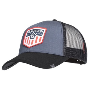 Cap Era Trucker US Flag PENTAGON® Wolf Grey, Pentagon
