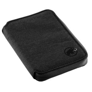 Geldbörse MAMMUT Zip Wallet Mélange Black 0001, Mammut
